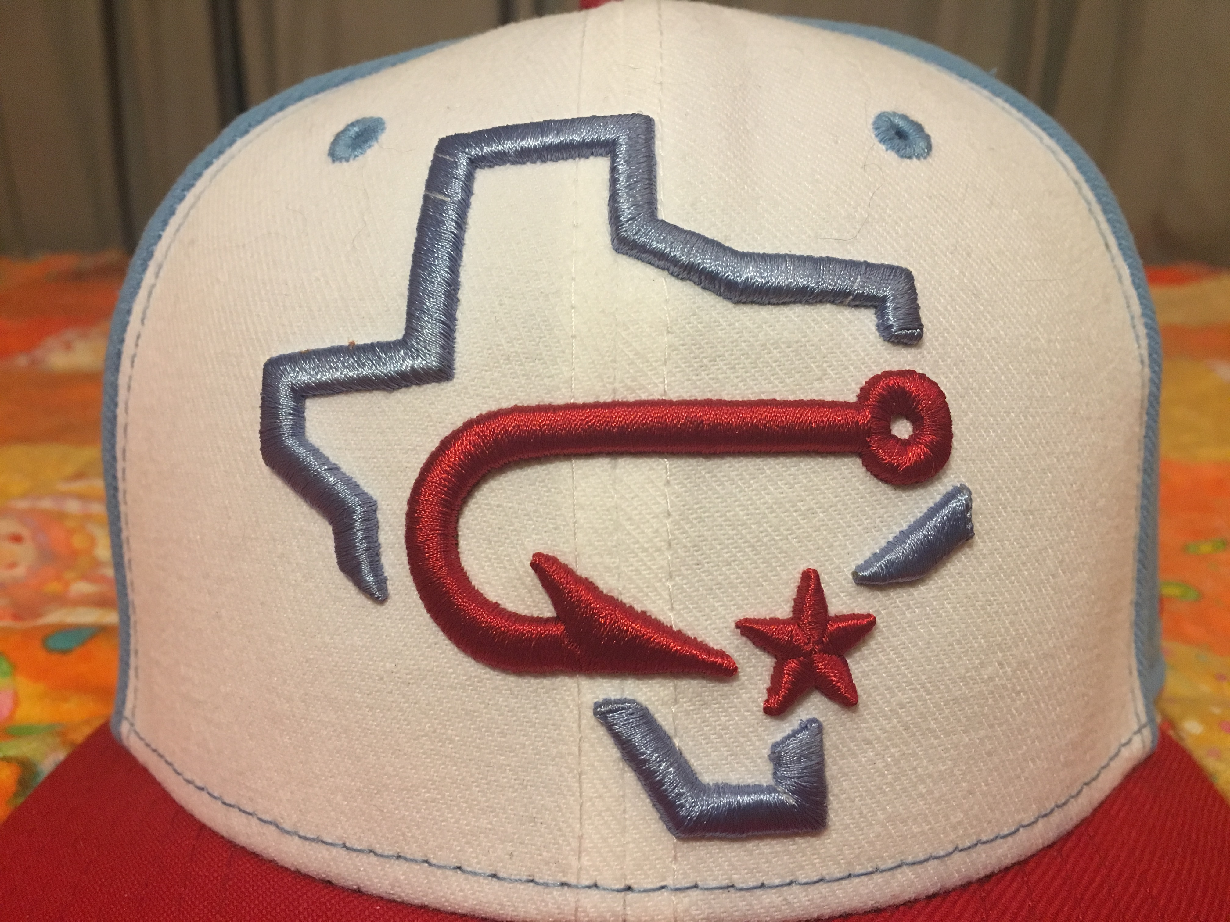"""22aae326c8c This """"Fauxback"""" hat for the Corpus Christi Hooks (A Double-A Affiliate Minor  League Team for the Houston Astros) is one of the best looking hats that  I ve ..."""