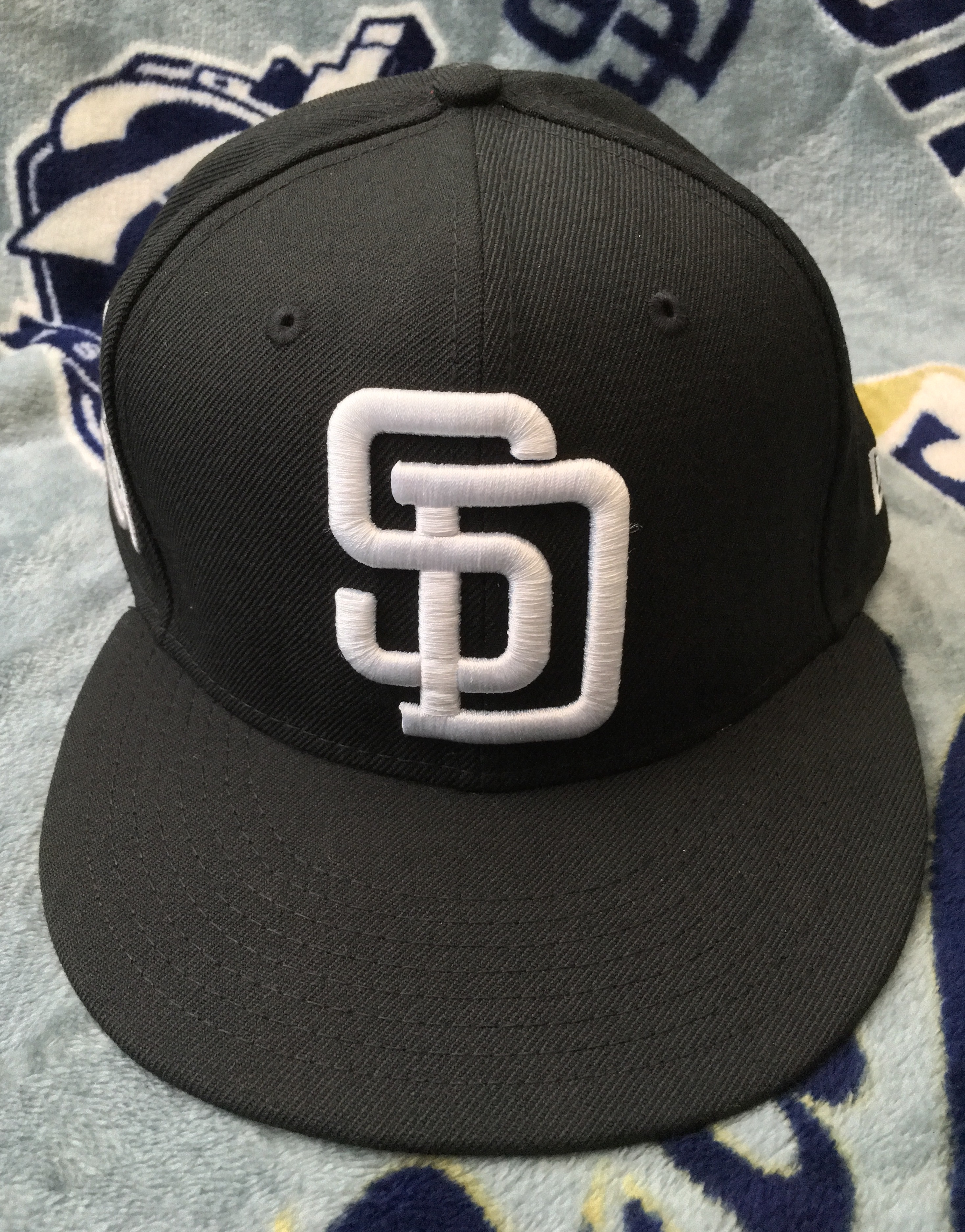 Capshot San Diego Padres Banner Patch 59fifty Sd Hat Collectors