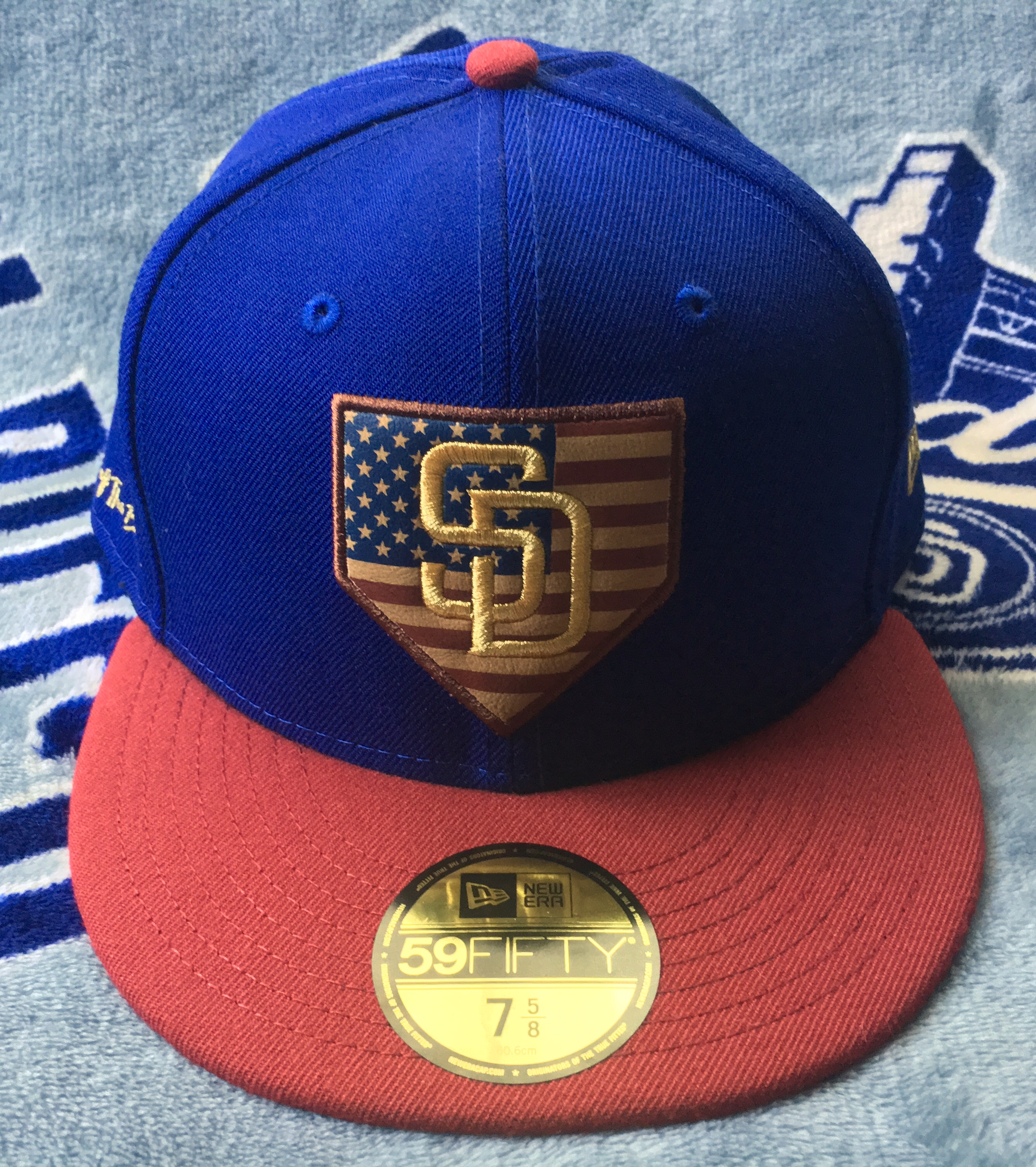 online store e6ef3 12c1b ... era mlb heather basic 59fifty cap canada a6e43 14376  spain patriotism  in caps is nothing new nowadays. since the inception of the stars stripes