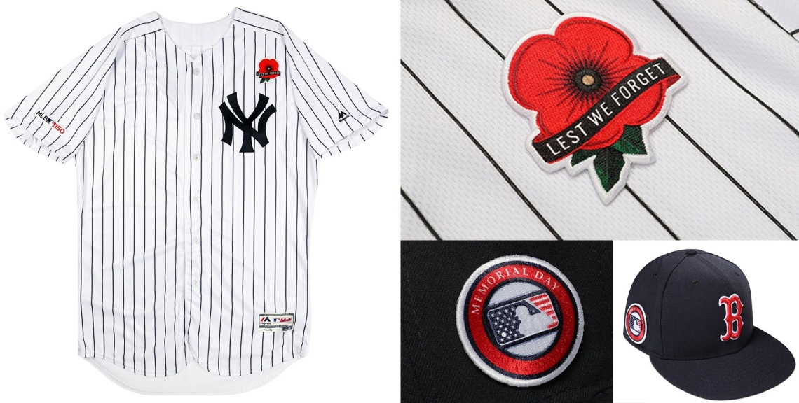 6751f3db4 B43CF7C3-1A2B-49CA-87C9-DCAAFE06612A Credit – Yahoo Sports. Memorial Day  loses its camouflage and moves to a classier poppy look for the ...